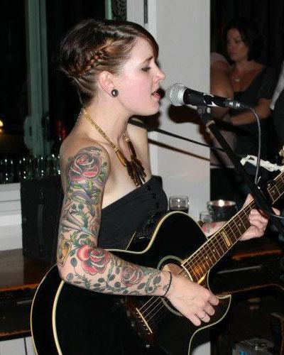 Beth Lucas full sleeve tattoo