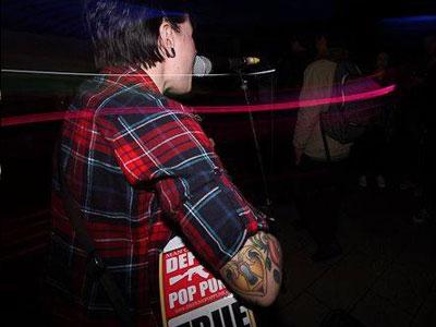 Beth Lucas locked heart tattoo