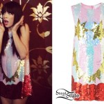 Carly Rae Jepsen: Sequin Dress
