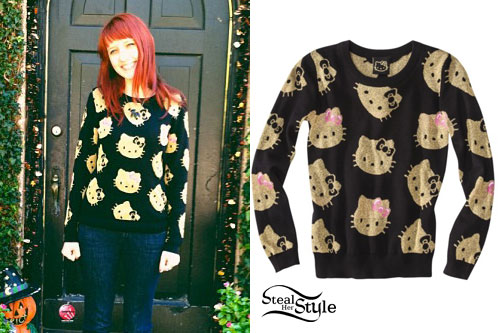 Christie DuPree: Hello Kitty Sweater