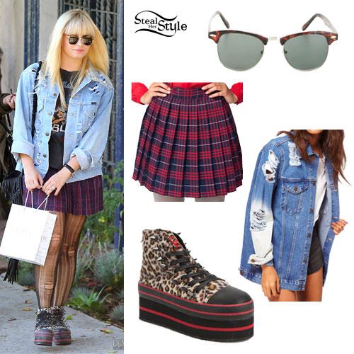 Demi Lovato Leopard Platform Sneakers Steal Her Style