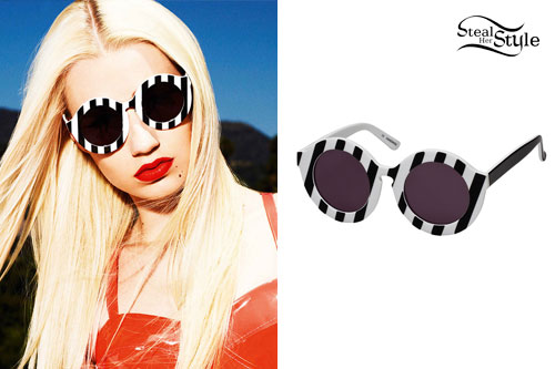 Iggy Azalea: House of Holland Sunglasses