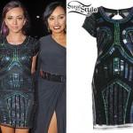 Jade Thirlwall: Embellished Dress