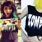 Julia Pierce: Zombie Crop Top