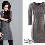 Lana Del Rey: H&M Gray Bodycon Dress