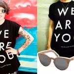 Tegan Quin: We Are You T-Shirt, Wooden Sunglasses