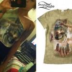 Anissa Rodriguez: Wolf Flag T-Shirt