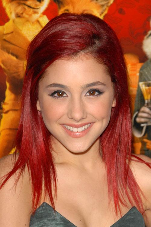 ariana grande red hair 2014 wwwpixsharkcom images