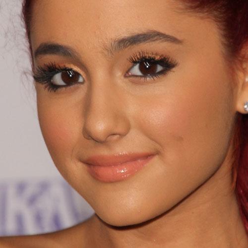 Ariana Grande Makeup Orange Eyeshadow Amp Mauve Lipstick