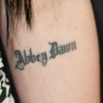 avril-lavigne-abbey-dawn-elbow-tattoo