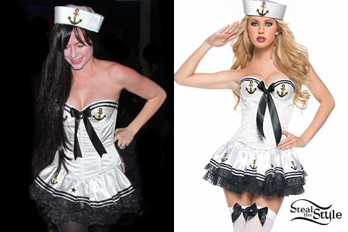 Avril Lavigne: Sailor Halloween Costume