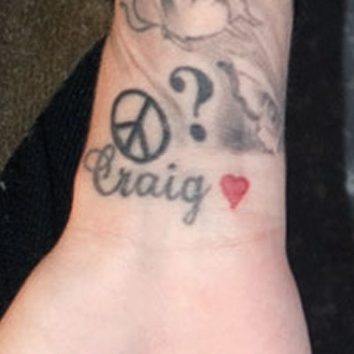 "Cher Lloyd's ""Craig"" Wrist Tattoo | Steal Her Style"