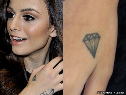 4055a52b373e6 Cher Lloyd's Tattoos & Meanings   Steal Her Style
