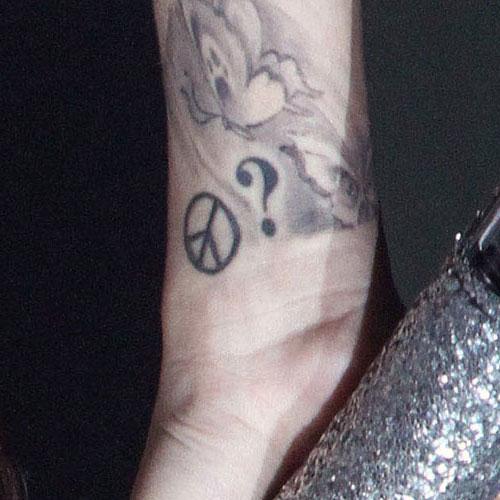 Cher Lloyd Tattoos