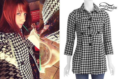 Christie DuPree: Houndstooth Coat