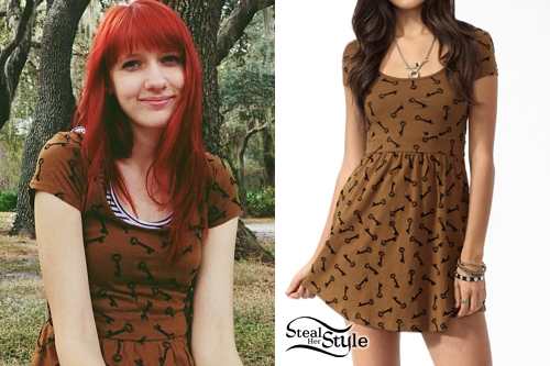 Christie DuPree: Key Print Dress