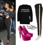 Leigh-Anne Pinnock: 'Lover Not A Fighter' Top