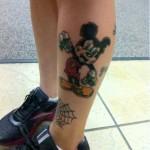 alana-potocnik-mickey-calf-tattoo