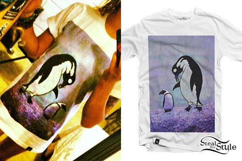 Anissa Rodriguez: Penguin T-Shirt