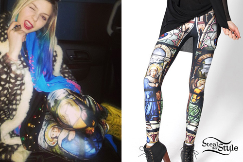 Colette Carr: Cathedral Leggings