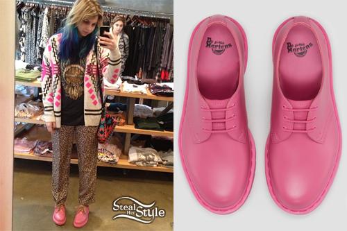 Colette Carr: Pink Dr Martens Shoes