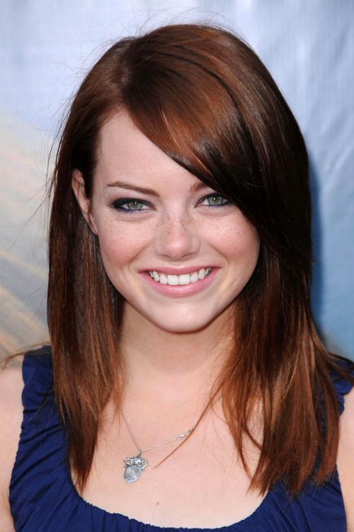 emma watson short hairstyles : Emma Stone Hair: Actress Shows Off Adorable New Bob