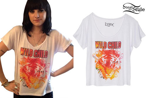Juliet Simms: Wild Child T-Shirt