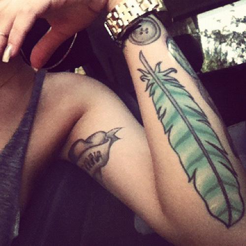 lil-debbie-tattoo-feather