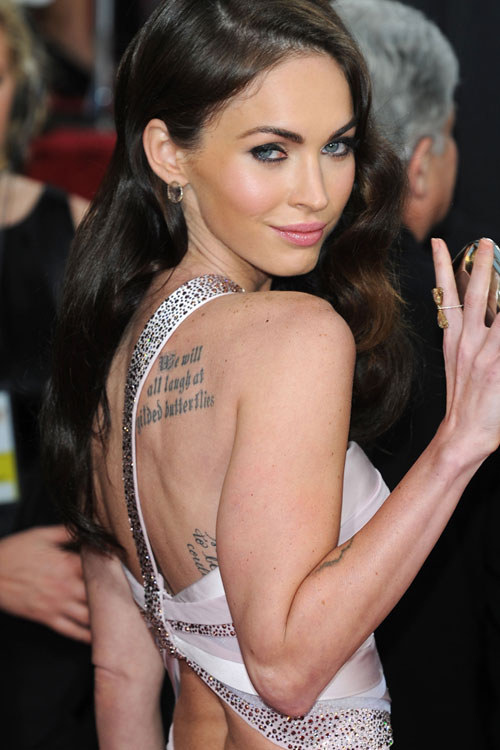 Megan Foxs 6 Tattoos Meanings Steal Her Style