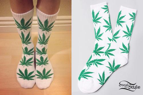 Melissa Marie Green: Marijuana Socks