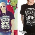 Michelle Blanchard: Johnny Cash T-Shirt
