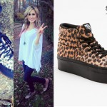 Mindy White: Leopard Platform Vans