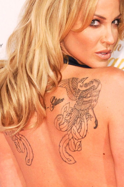 31f7a369f 112 Celebrity Upper Back Tattoos | Page 11 of 12 | Steal Her Style ...