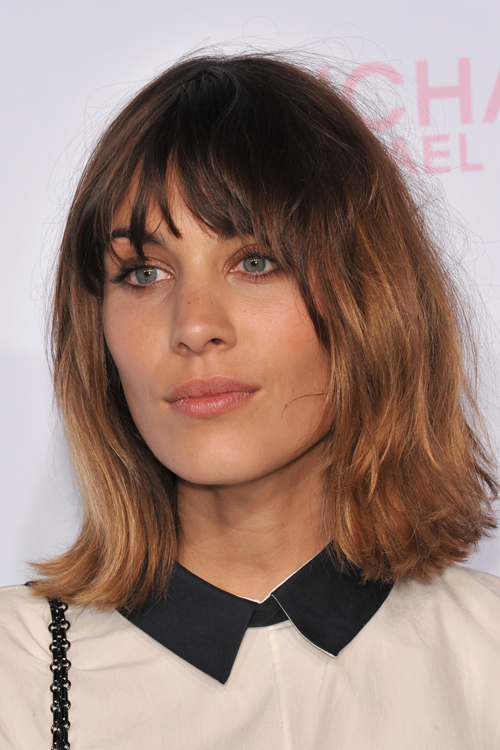 Alexa Chung's Hairstyles & Hair Colors | Steal Her Style