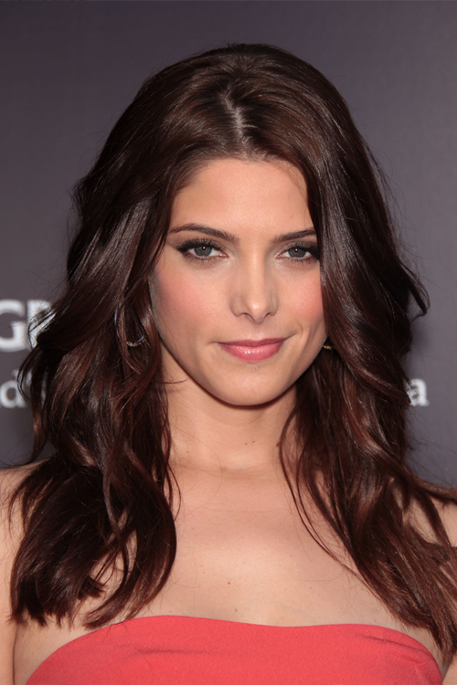 Ashley Greene Wavy Auburn Hairstyle | Steal Her Style