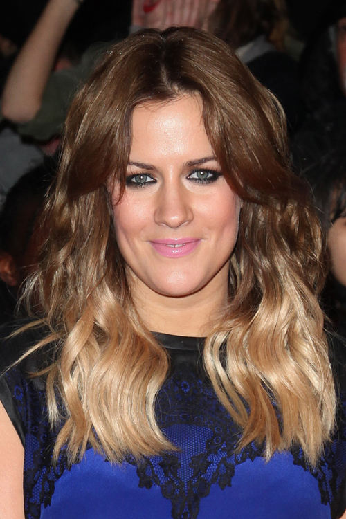 Caroline Flack S Hairstyles Amp Hair Colors Steal Her Style