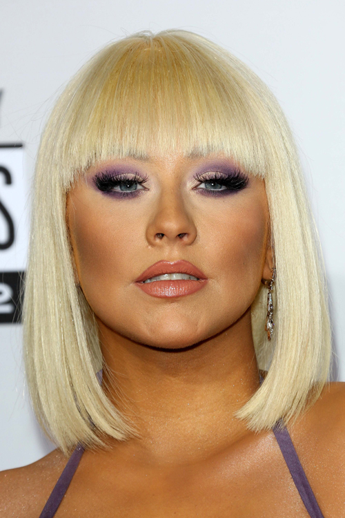 Christina Aguilera S Hairstyles Amp Hair Colors Steal Her