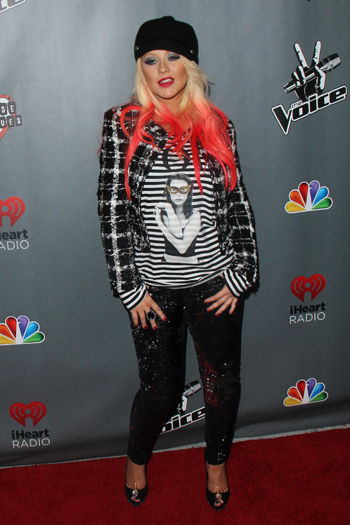 Christina Aguilera Clothes Amp Outfits Steal Her Style