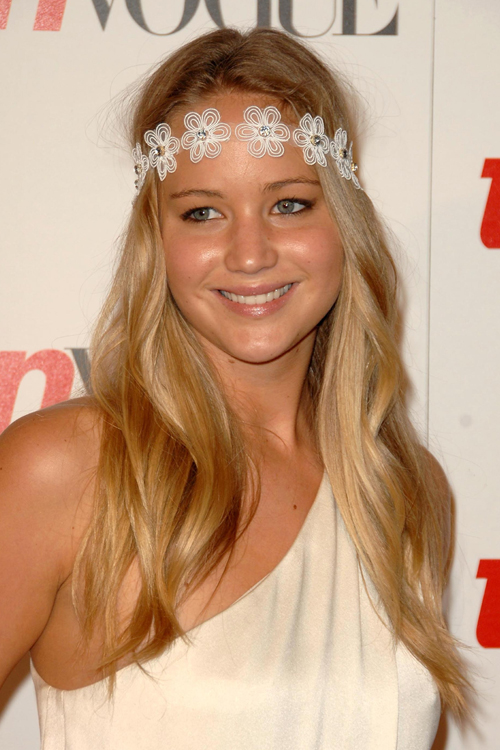 Jennifer Lawrence Blonde Hair