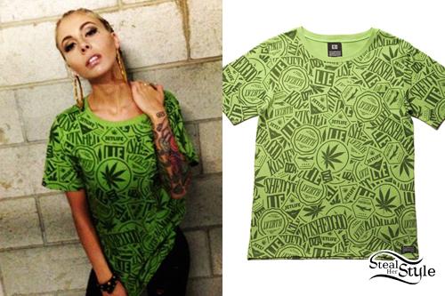Lil Debbie: Kush Print T-Shirt