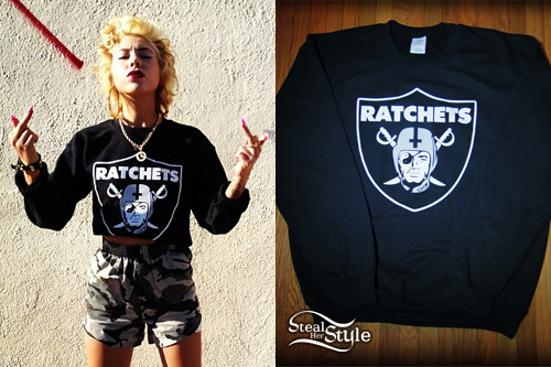Lil Debbie: Oakland Ratchets Sweater