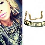 Lil Debbie: Trust No Bitch Necklace