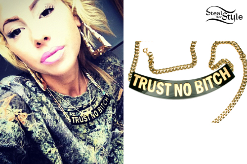 Lil Debbie: Trust No Bitch Necklace