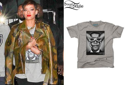 Rihanna: Barack Obama Tee