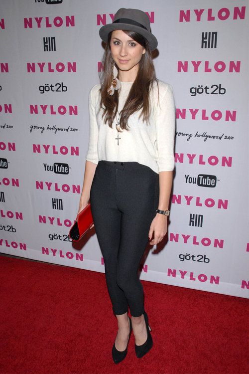 Troian Bellisario Clothes Amp Outfits Steal Her Style