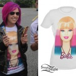 Ariel Bloomer: Barbie T-Shirt