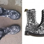 Ariel Bloomer: Splatter Paint Boots