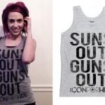 Ariel Bloomer: Suns Out Guns Out Tank Top