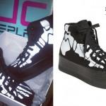 Ash Costello: Skeleton Sneakers