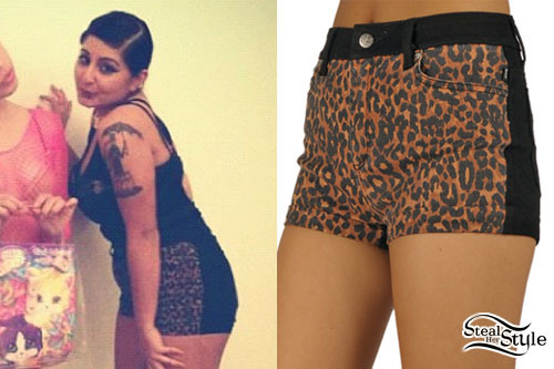 Chippy Nonstop: Leopard Shorts